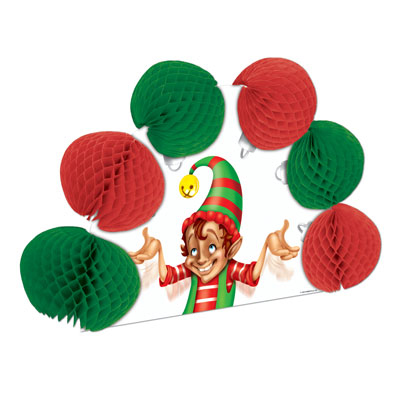 Click for larger picture of ELF POP-OVER CENTERPIECE (12/CS) PARTY SUPPLIES