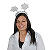 GLITTERED SNOWFLAKE BOPPERS (12/CS) PARTY SUPPLIES