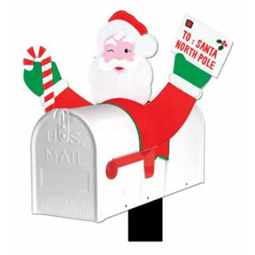 Christmas Mailbox Covers.Christmas Cutout Tissue Decorations Party Supplies