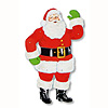 JOINTED SANTA 29IN. (1/PKG) PARTY SUPPLIES