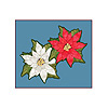 DISCONTINUED MINI POINSETTIA CUTOUTS PARTY SUPPLIES