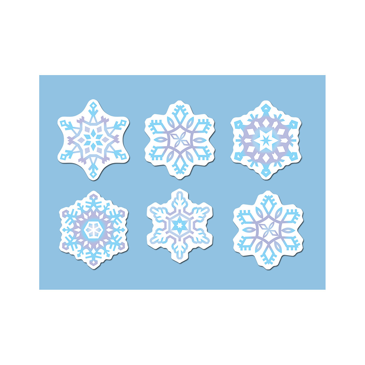 Christmas Cutout Decorations: Christmas Cut Out Tissue Decorations Party Supplies
