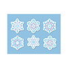 MINI SNOWFLAKE CUTOUTS PARTY SUPPLIES