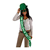 IRISH WHISKY/FRISKY SATIN SASH (6/CS) PARTY SUPPLIES