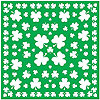 SHAMROCK BANDANA PARTY SUPPLIES