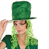 TINSEL TOP HAT W/CURLY WIG(6/CS) PARTY SUPPLIES