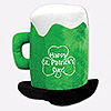 ST PATRICK'S DAY BEER MUG HAT (6/CS) PARTY SUPPLIES