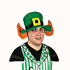 FELT LEPRECHAUN HAT W/EARS (6/CS) PARTY SUPPLIES