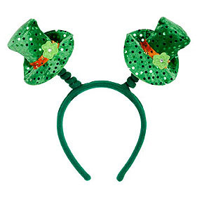 Click for larger picture of LEPRECHAUN HAT BOPPERS PARTY SUPPLIES