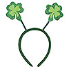 GLITTERED SHAMROCK BOPPERS (12/CS) PARTY SUPPLIES