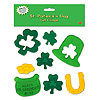 ST PATRICK'S DAY GEL CLINGS (12/CS) PARTY SUPPLIES