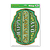 DISCONTINUED ST PAT'S DAY SIGN PEEL 'N P PARTY SUPPLIES