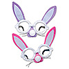 PLUSH BUNNY GLASSES (12/CS) PARTY SUPPLIES