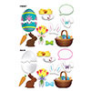 EASTER PHOTO FUN SIGNS (144/CS) PARTY SUPPLIES