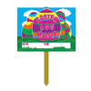 EASTER EGG HUNT YARD SIGN (6/CS) PARTY SUPPLIES