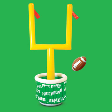 Great Click For Larger Picture Of INFLATABLE GOAL POST COOLER W/FOOTBALL PARTY  SUPPLIES