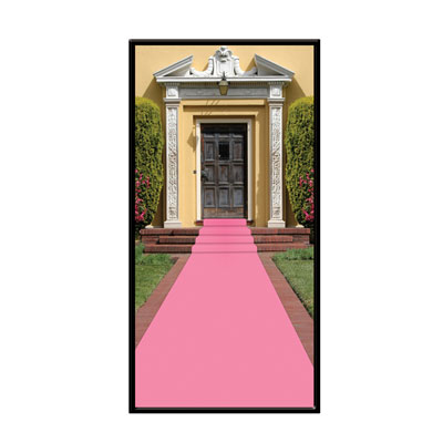 Click for larger picture of PINK CARPET RUNNER (6/CS) PARTY SUPPLIES