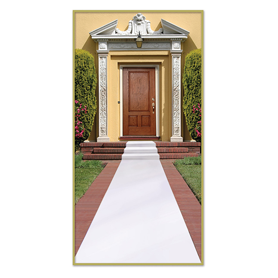 WHITE CARPET RUNNER (6/CS) PARTY SUPPLIES