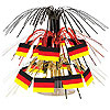 MINI GERMAN FLAG CASCADE CENTERPIECE PARTY SUPPLIES
