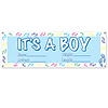 ITS A BOY BANNER (60X21 IN.) PARTY SUPPLIES