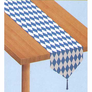 Click for larger picture of OKTOBERFEST TABLE RUNNER PARTY SUPPLIES