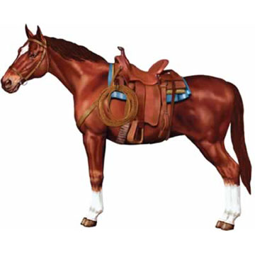 Click for larger picture of JOINTED HORSE (12/CS) PARTY SUPPLIES