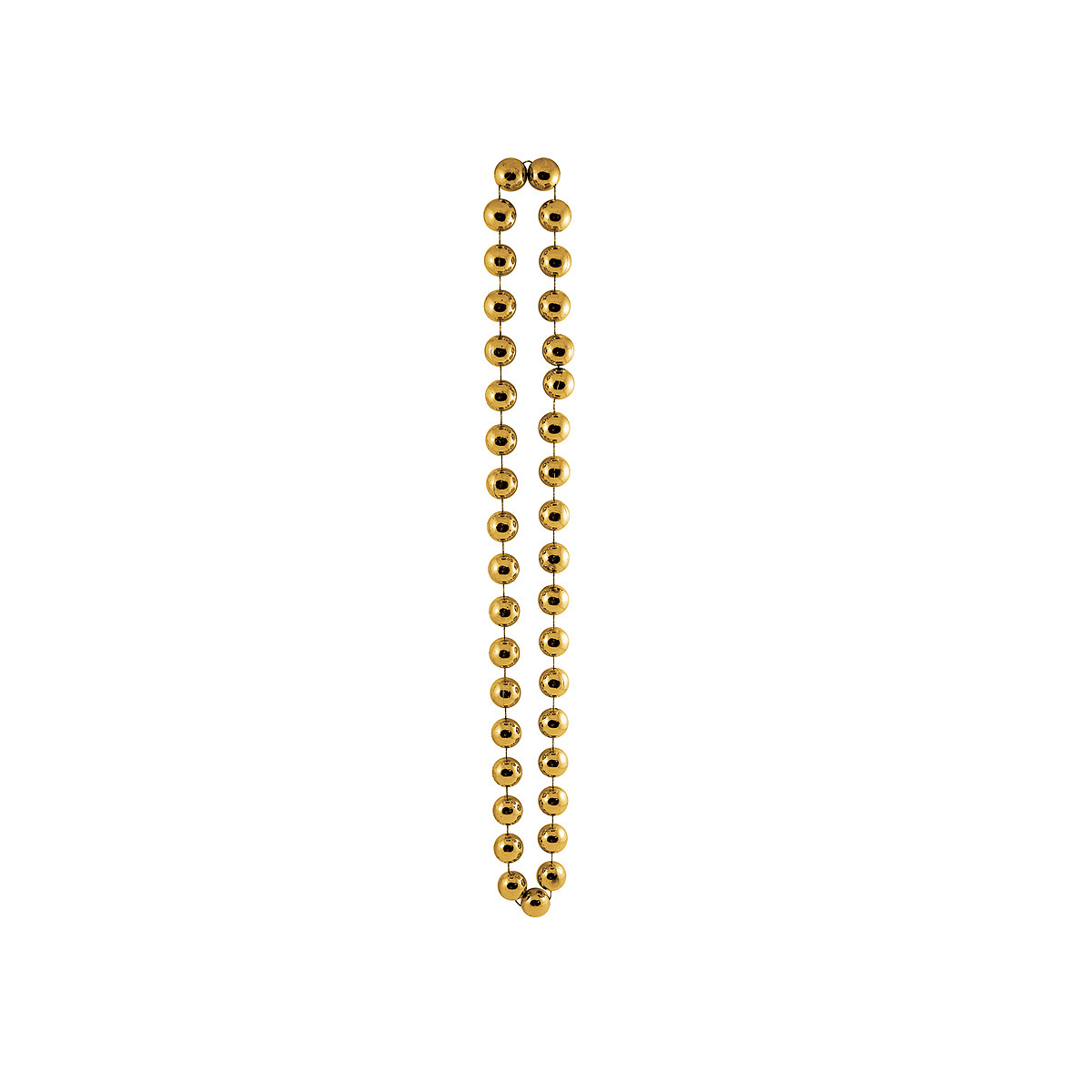 Click for larger picture of JUMBO PARTY BEADS GOLD PARTY SUPPLIES