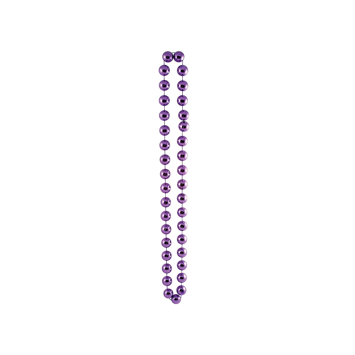 Click for larger picture of DISCONTINUED JUMBO PARTY BEADS PURPLE PARTY SUPPLIES