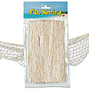 FISH NETTING NATURAL WHITE 4'X12'-12/CS PARTY SUPPLIES