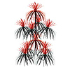FIREWORK CHANDELIER BLACK/RED (12/CS) PARTY SUPPLIES