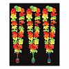 FIESTA LEI W/MARACA MEDALLION (12/CS) PARTY SUPPLIES