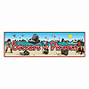 BEWARE OF PIRATES SIGN BANNER (12/CS) PARTY SUPPLIES