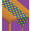 PRINTED MARDI GRAS TABLE RUNNER PARTY SUPPLIES