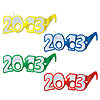 DISCONTINUED 2013 GLITTERED  EYEGLASSES PARTY SUPPLIES