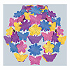 BUTTERFLY & FLOWER CASCADE (12/CS) PARTY SUPPLIES