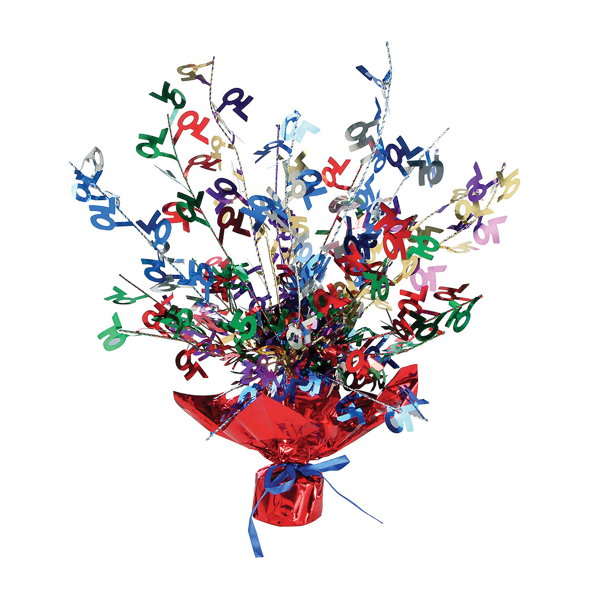 Click for larger picture of 70 GLEAM 'N BURST CENTERPIECE(12/CS) PARTY SUPPLIES