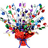 BALLOON GLEAM 'N BURST CENTERPIECE PARTY SUPPLIES