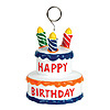 BIRTHDAY CAKE PHOTO/BALLOON HOLDER PARTY SUPPLIES