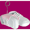BABY SHOES PHOTO/BALLOON HOLDER PINK PARTY SUPPLIES