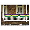 MARDI GRAS FABRIC BUNTING (6/CS) PARTY SUPPLIES