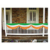 IRISH FABRIC BUNTING GREEN/WHITE/ORANGE PARTY SUPPLIES