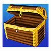INFLATABLE TREASURE CHEST COOLER (1/CS) PARTY SUPPLIES