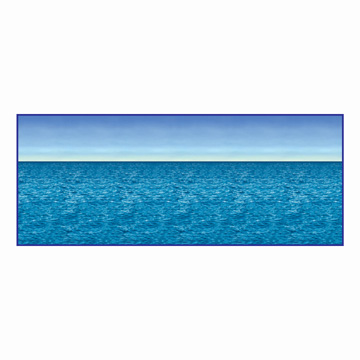 Click for larger picture of OCEAN & SKY BACKDROP PARTY SUPPLIES