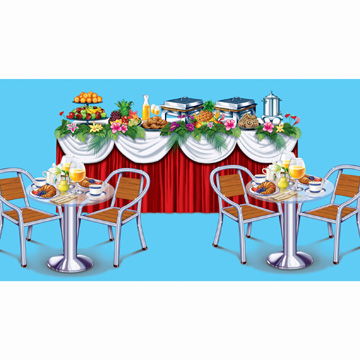 Cruise Ship Scene Setters Party Supplies Cruise Ship Buffet Props