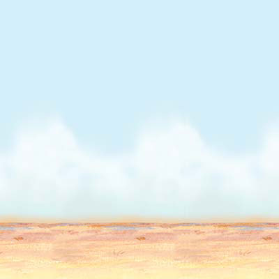 Click for larger picture of DESERT SKY & SAND BACKDROP (6/CS) PARTY SUPPLIES