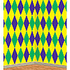 MARDI GRAS HARLEQUIN BACKDROP (6/CS) PARTY SUPPLIES