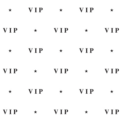 Click for larger picture of VIP BACKDROP DECORATION 4FT x 30 FT PARTY SUPPLIES