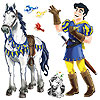 PRINCE & TRUSTY STEED PROPS (24/CS) PARTY SUPPLIES