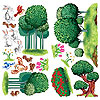 ANIMAL & NATURE PROPS (240/CS) PARTY SUPPLIES