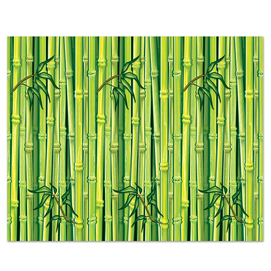 BAMBOO BACKDROP PARTY SUPPLIES